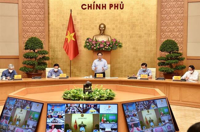 Thủ tướng chủ trì họp phòng chống dịch Covid-19: Thêm một số tỉnh đẩy lùi được dịch bệnh