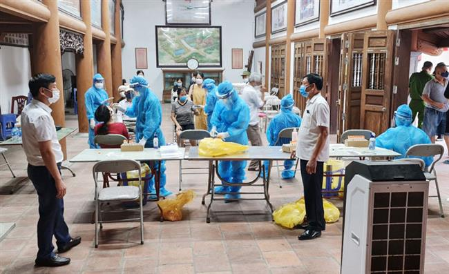Bộ Y tế quán triệt công tác xét nghiệm khi thực hiện giãn cách xã hội