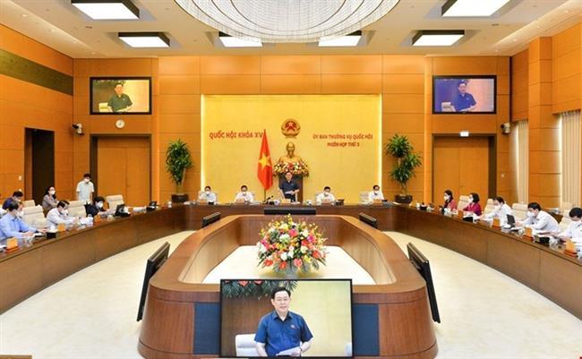 Phiên họp thứ ba Ủy ban Thường vụ Quốc hội: Cho ý kiến nhiều nội dung quan trọng
