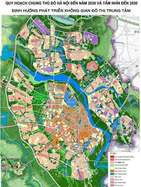 Giao nhiệm vụ tổ chức lập Điều chỉnh tổng thể Quy hoạch chung xây dựng Thủ đô Hà Nội