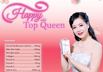 NSUT Chiều Xuân tin dùng Happy Top Queen để tăng vẻ đẹp tự nhiên